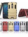 Для Кейс для  Samsung Galaxy Защита от удара / со стендом Кейс для Задняя крышка Кейс для Армированный PC Samsung J3 / J2 / J1 Ace