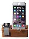 사과보고 아이폰 대나무 사과 시계 iwatch을위한 도킹 스테이션 브래킷 크래들 홀더 충전 스탠드
