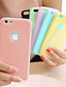 제품 iPhone 8 iPhone 8 Plus 아이폰5케이스 케이스 커버 울트라 씬 뒷면 커버 케이스 한 색상 소프트 TPU 용 iPhone 8  Plus iPhone 8 iPhone SE/5s iPhone 5
