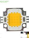 10w 900lm 흰색 / 따뜻한 화이트 3000K / 6000K 높은 밝은 LED 조명 램프 칩 직류 9-12v