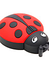 ZPK15 8GB Beetle Coccinella Septempunctata Cartoon USB 2.0 Flash Memory Drive U Stick