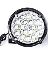 Carking™ Universal 18 LED Round Style Car DRL Daytime Running Light/Fog Light-White Light(2PCS)