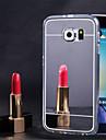 Pour Samsung Galaxy S7 Edge Miroir Coque Coque Arriere Coque Couleur Pleine PUT pour Samsung S7 edge S7 S6 edge plus S6 edge S6 S5 S4 S3