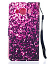 For Samsung Galaxy Case Card Holder / Wallet / with Stand / Flip Case Full Body Case Glitter Shine PU Leather SamsungJ5 (2016) / J5 /