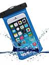 Pour Impermeable Avec Ouverture Coque Bolsa Coque Couleur Pleine Flexible Polycarbonate pour UniverseliPhone 6s Plus/6 Plus iPhone 6s/6
