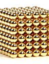 Jouets Aimantes 216 Pieces 3MM Magnetic Balls Golden&Silver 2 Color Choose,Diameter 3 MM Soulage le Stress Kit de Bricolage Jouets