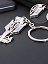 personnalise cadeau porte-cles en alliage de zinc moderne / creatif