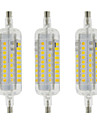 4W R7S LED Corn Lights T 60 SMD 2835 350-400 lm Warm White Cool White Waterproof Decorative AC 220-240 V 3 pcs