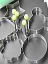 5 크리 에이 티브 주방 가젯 스테인레스 달걀 도구