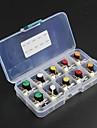 10PCS (5kind * 2 개 : b5k, B10K, b20k, b50k, b100k) wh148 하나의 공동 전위차계 + 5 색 AG2 플라스틱 손잡이 키트