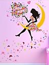 Desenho Animado Wall Stickers Autocolantes de Avioes para Parede Autocolantes de Parede Decorativos / Autocolantes de Casamento,PVC