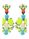Femme Boucles d\'oreille goutte Mode Boheme bijoux de fantaisie Plume Alliage Forme de Fleur Bijoux Pour Soiree Quotidien Decontracte