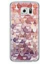 용 Samsung Galaxy S7 Edge 울트라 씬 / 반투명 케이스 뒷면 커버 케이스 기하학 패턴 소프트 TPU Samsung S7 edge / S7 / S6 edge plus / S6 edge / S6 / S5 / S4