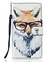 For Samsung Galaxy S7 Edge S7 Case Fox PU Leather Wallet S5 S6 S7