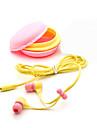 3.5mm Top Quality Birthday Gift Macaron Earphone Headphones Headset