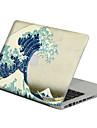 1개 스크래치 방지 투명 플라스틱 바디 스티커 패턴 용MacBook Pro 15\'\' with Retina / MacBook Pro 15\'\' / MacBook Pro 13\'\' with Retina / MacBook Pro 13\'\' / MacBook
