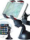 Стенд / крепление для телефона Автомобиль Козырек от ветра Поворот на 360° Пластик for Мобильный телефон