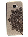 For Samsung Galaxy A5 A5(2016) A3 A3(2016) Case Cover Half Flower Pattern IMD Process Painted TPU Material Phone Case