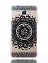 For Samsung Galaxy A510 A5 A310 A3 TPU Material Bilateral Flowers Patterns Relief Phone Case