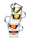 Artigos para Bebida, 475 Vidro Cafe Agua Vidro