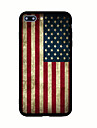Pour Motif Coque Coque Arriere Coque Drapeau Dur Acrylique pour AppleiPhone 7 Plus iPhone 7 iPhone 6s Plus iPhone 6 Plus iPhone 6s iphone