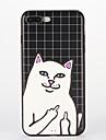 제품 iPhone 8 iPhone 8 Plus 케이스 커버 패턴 뒷면 커버 케이스 고양이 소프트 실리콘 용 Apple iPhone 8 Plus iPhone 8 아이폰 7 플러스 아이폰 (7) iPhone 6s Plus iPhone 6 Plus