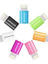 yellowknife® pple mfi micro usb à jour de la foudre synchronisation adaptateur de charge pour iphone7 6s 6 plus se 5s 5 ipad air / 4 / mini-