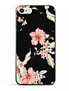 Pour iPhone 8 iPhone 8 Plus Etuis coque Motif Coque Arriere Coque Fleur Flexible PUT pour Apple iPhone 8 Plus iPhone 8 iPhone 7 Plus