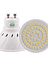 5W GU10 GU5.3(MR16) E26/E27 Spot LED 54 SMD 2835 400-500 lm Blanc Chaud Blanc Froid Blanc Naturel Decorative V 1 piece