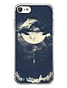 Pour iPhone X iPhone 8 Etuis coque Ultrafine Motif Coque Arriere Coque Carreau vernise Flexible PUT pour Apple iPhone X iPhone 8 Plus