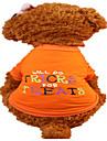 Chien Tee-shirt Vetements pour Chien Ete Lettre et chiffre Mode