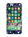 1개 스크래치 방지 기하학 투명 플라스틱 바디 스티커 야광 패턴 용 iPhone 7 Plus iPhone 7 iPhone 6s Plus/6 Plus iPhone 6s/6 iPhone SE/5s/5 iPhone 5 iPhone 4/4s