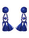 여성용 드랍 귀걸이 보석류 의상 보석 패션 보헤미아 스타일 합금 보석류 보석류 제품 파티 캐쥬얼