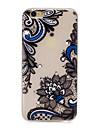 Для Стразы Сияние в темноте С узором Кейс для Задняя крышка Кейс для Кружевной дизайн Цветы Мягкий TPU для AppleiPhone 7 Plus iPhone 7