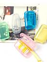 Путешествия Органайзер Туалетные принадлежности Влагонепроницаемый Защита от пыли ультралегкий (UL) Антибактериальный Переносной Пластик
