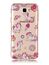 For Samsung Galaxy TPU Material IMD Process Unicorn Pattern Phone Case J7 Prime J3 Prime J710 J7 J510 J5 J310 J3