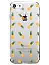Pour iPhone X iPhone 8 Etuis coque Transparente Motif Coque Arriere Coque Fruit Flexible PUT pour Apple iPhone X iPhone 8 Plus iPhone 8