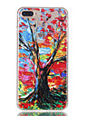 For iPhone 7Plus 7 TPU Material Big Tree Pattern Relief Phone Case 6s Plus 6Plus 6S 6 SE 5s 5