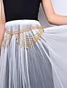 Femme Bijoux de Corps Chaine de ventre Mode bijoux de fantaisie Alliage Goutte Bijoux Pour Scene Vetements de Plein Air Sortie