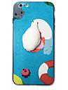 Для iphone 7 плюс 7 чехлов крышка шаблон задняя крышка squishy случай мультфильм животное жесткий акрил для iphone 6s плюс 6s 6 плюс 6 5s