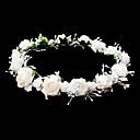 رخيصةأون مجوهرات الشعر-أغطية الرأس الزفاف زهرة فتاة مع إكليل الزهور الجميلة