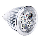 Недорогие Точечное LED освещение-5W 400-500lm GU5.3(MR16) Точечное LED освещение MR16 5 Светодиодные бусины Высокомощный LED Тёплый белый 12V