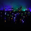 hesapli LED Şerit Işıklar-10m Dizili Işıklar 100 LED'ler Dip Led RGB Renk Değiştiren 220 V