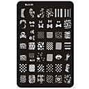 cheap Makeup & Nail Care-nail art stamp stamping image template plate mls series