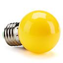 hesapli LED Küre Ampuller-1pc 1 W 80 lm E26 / E27 LED Küre Ampuller G45 8 LED Boncuklar SMD 2835 Dekorotif Sarı 220-240 V / RoHs