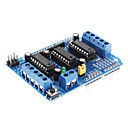 preiswerte Motherboards-L293D Motor Driver Expansion Board Motor Control Shield (Blue)