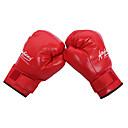 billiga Bakljus-Boxningssäckhandskar / Träningshandskar till boxning / Grapplinghandskar för MMA För Taekwondo, Boxing, Karate, Kampsport Helt finger Justerbara, Andningsfunktion, Slitsäker PU Herr / Dam - Svart