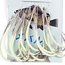 hesapli Çoraplar-45cm-Line (30 Adet / Paket) 12 # -15 # HQ002 (Sarı) ile Deniz Balıkçılık için Noctilucent olta