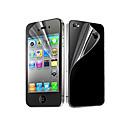 hesapli iPhone 4s / 4 İçin Ekran Koruyucular-Ekran Koruyucu Apple için iPhone 6s iPhone 6 iPhone 4s / 4 PET 10 parça Ön ve Arka Koruyucu Ultra İnce