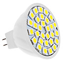 cheap LED Spotlights-4W 420lm GU5.3(MR16) LED Spotlight MR16 30 LED Beads SMD 5050 Natural White 12V